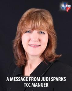 Judi Sparks, TCC Manager